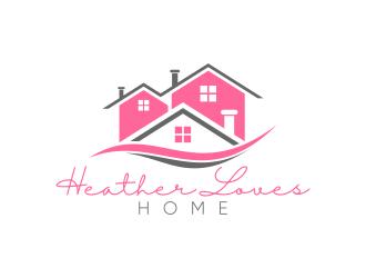 Heather Loves Home logo design by pakNton
