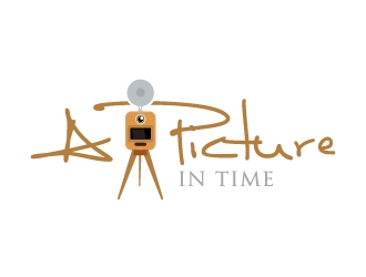 A Picture In Time logo design