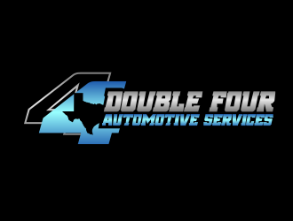 Double four automotive services logo design