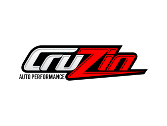 Cruzin auto performance  logo design
