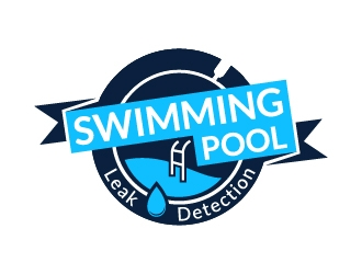 Swimming pool leak detection logo design for Pool design hours
