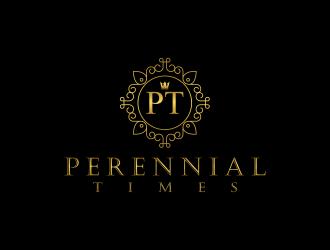 Perennial Times  logo design