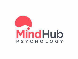Mind Hub Psychology logo design