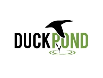 Duck Pond logo design