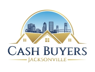 Cash Buyers Jacksonville logo design