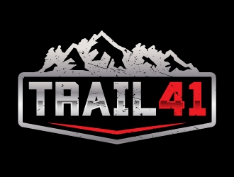 Trail 41 logo design