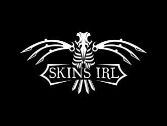 Skins IRL logo design