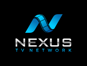 Nexus TV Network logo design