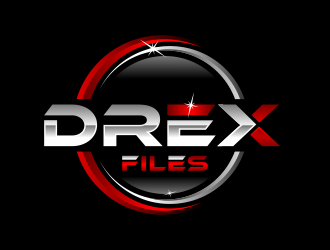 Drex Files logo design