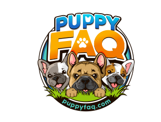 Puppy FAQ logo design