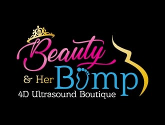 Beauty and Her Bump logo design