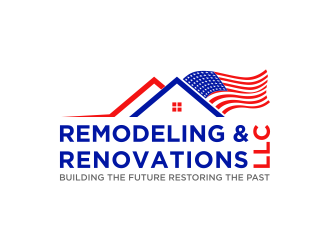 Remodeling & Renovations LLC/ Building the Future Restoring the Past logo design