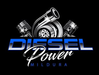 Diesel Power Mildura  logo design