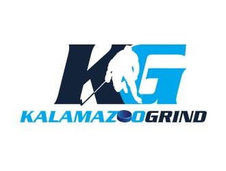 Kalamazoo Grind logo design