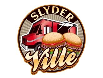SlyderVille logo design