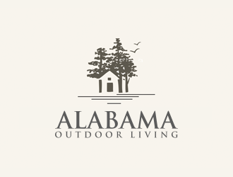 Alabama Outdoor Living logo design