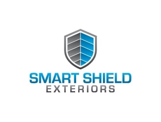 Smart Shield Exteriors  logo design