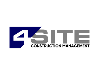4 Site Construction Management  logo design winner