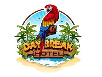 Day Break Hotel logo design
