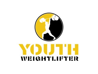 Youth Weightlifter logo design winner