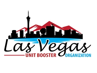 Las Vegas Unit Booster Organization logo design