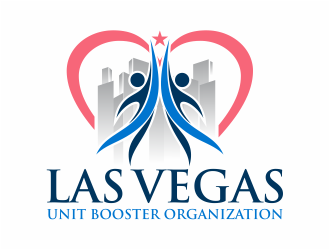 Las Vegas Unit Booster Organization logo design by mutafailan