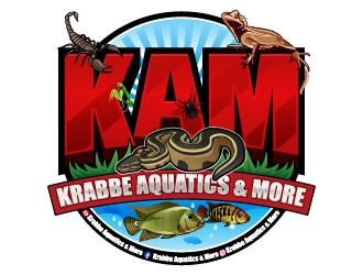 Krabbe Aquatics & More logo design winner