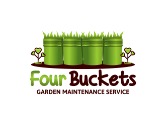 Four Buckets and a Swiss Miss logo design winner