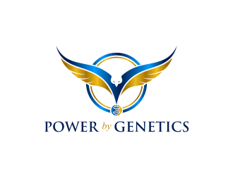 POWER by GENETICS logo design