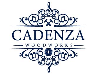 Cadenza Woodworks logo design winner