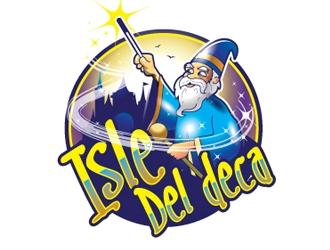 Isle Del Deca logo design