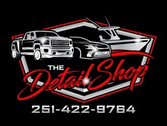 The Detail Shop logo design