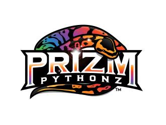 Prizm Pythonz logo design winner
