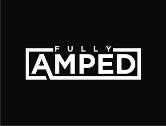 Fully Amped logo design