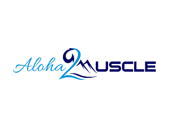 Aloha2Muscle logo design winner