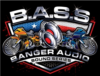 Banger Audio Sound Series logo design winner