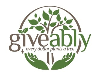 Giveably logo design winner