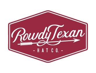 Rowdy Texan Hat Company logo design