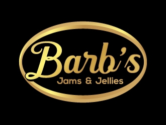 Barbs Jams and Jellies logo design