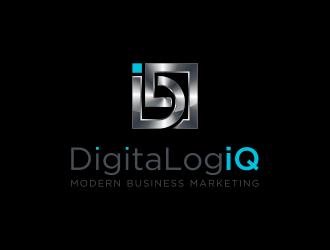 DigitaLogiQ logo design winner