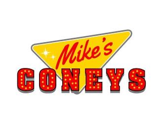 Mikes Coneys logo design