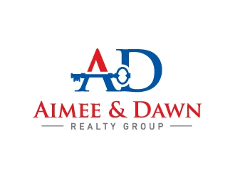 Aimee & Dawn Realty Group logo design