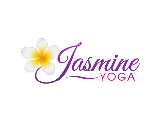 Jasmine Yoga logo design