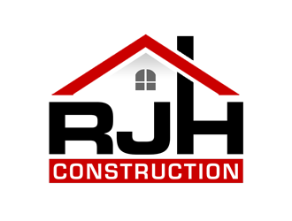 RJH Construction logo design