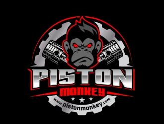 www.pistonmonkey.com logo design by jaize