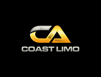 California Coast Limousines logo design