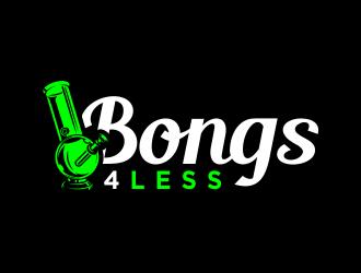 Bongs4Less logo design