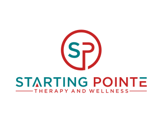 Starting Pointe Therapy and Wellness logo design