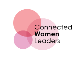 Connected Women Leaders logo design