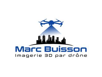Marc Buisson - Imagerie 3D par drône logo design